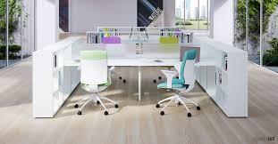Home office desk with storage Organize Study Frame Storage White Office Desk Furniture Design Modern Home Office Desk Design