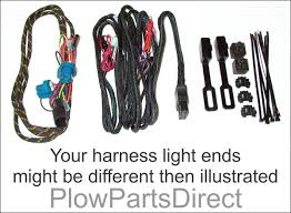 western light and control harness 61515 western harness 61515