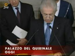 G`DAY - 17/11/2011 : Mario Monti legge la lista dei ministri del nuovo  governo - LA7.it