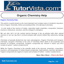 organic chemistry help by tutorvista team issuu