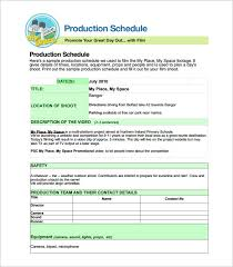 Production Schedule Template Excel Free Download 30 Production Scheduling Templates Pdf Doc Excel Free