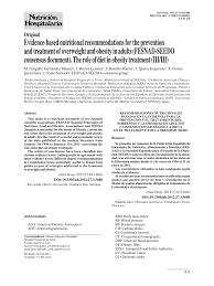 Perkins Calorie Chart Pdf Evidence Based Nutritional Recommendations For The