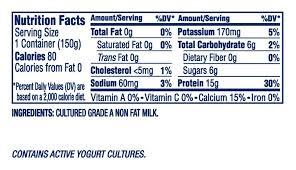 dannon oikos greek nonfat yogurt plain 5 3oz dannon foodservice throughout oikos yogurt