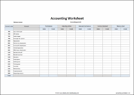 Accounting General Ledger Template Account Sheet Omfar Mcpgroup Co
