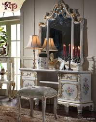 dressing room furniture. 2018 European Classic Furniture Luxury French Royalty Bedroom Set Cracking Paint Dressing Table And Mirror From Fpfurniturecn, Room
