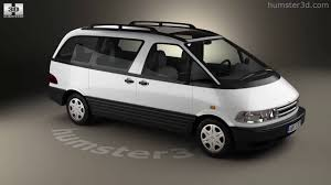 Toyota Previa 1990 3D model by Humster3D.com - YouTube