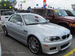 Sport Series bmw m3 2004 : 2004 BMW M3 Convertible in Titanium Silver Metallic - K04944 ...