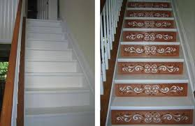 One Step Beyond: Decorative Stair Risers - design stairs, stair design,  decorating stairs