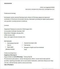 Registered Pharmacist Resume Pharmacy Manager Resume If You Are