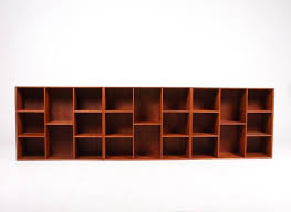 wall mounted bookcases by peter hvidt