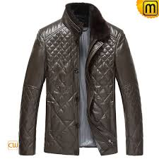 quilted italian leather jackets for men cw848078