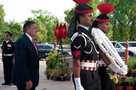 u s department of defense photo essay  u s defense secretary leon e panetta walks n military police during a wreath laying
