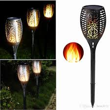tiki torch table lamp with 2018 solar tiki torch lights led garden waterproof outdoor courtyard