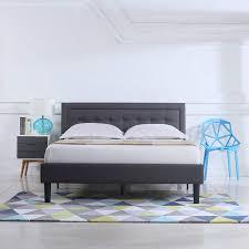 Amazon.com: Divano Roma Furniture Classic Deluxe Linen Low Profile ...
