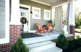 screened porch furniture. Small Porch Furniture Front Ideas Decor Idea Craftsman Home Design Screened L