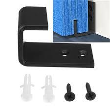 bottom floor wall sliding door guide rail sliding barn door guide wall mount hardware accessory with