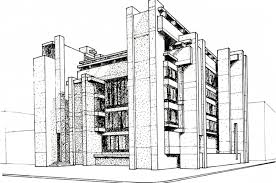 architecture design sketches. Architecture Building Drawing Design Sketches A