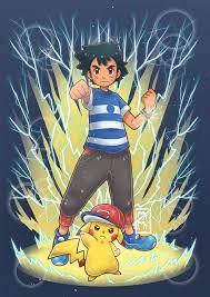 z move / ash and pikachu by mimiclothing on @DeviantArt | Pikachu art,  Gengar pokemon, Cool pokemon wallpapers