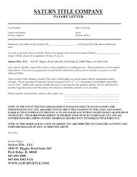 Loan Payoff Letter Template Mortgage Loan Payoff Letter Template Examples Letter Templates