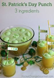 only 3 ings to make this delicious st patrick s day punch change the flavors