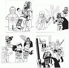 Small Picture Lego Star Wars Coloring Sheets Coloring Home