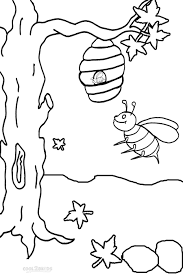 Small Picture Download Coloring Pages Bee Coloring Page Bee Coloring Page