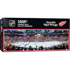 masterpieces nhl panoramic detroit red wings puzzle 1000 pieces com