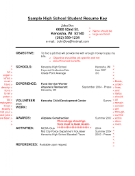 Examples Of High School Student Resume Entry level resume for high school students Resume Samples 26