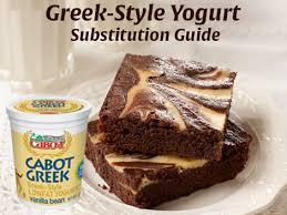 Greek Yogurt As A Substitute Cabot Creamery Cabot Creamery