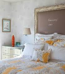 picture frame headboard- my most favorite idea yet. :)