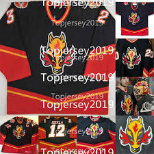 The flames have brought back its flaming horse logo for the team's alternate jersey. 2021 Custom Jarome Iginla Vintage Calgary Flames 1999 2000 Alternate Horse Head Hockey Retro Jerseys From Topjersey2019 49 71 Dhgate Com