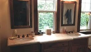 frameless bathroom vanity mirror. 24 X 30 Bathroom Mirror Pair Of Mirrors Rustic Wall Large  For Regarding Renovation Frameless Frameless Bathroom Vanity Mirror