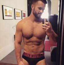 Hot hairy shirtless guy