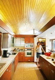 mid century modern galley kitchen. View Full SizeA Mid Century Modern Galley Kitchen V