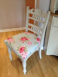 shabby chic chair cath kidston fabric for by vintagefurniture 95 00