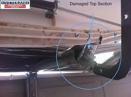 how to fix bent garage door unique how to fix my garage door is it possible