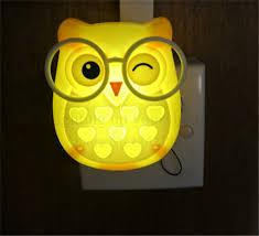 por kids wall lights lots. Extraordinary Design Ideas Kids Owl Lamp Cute Cartoon Led Mini Night Light Auto Control LED Sensor Por Wall Lights Lots G