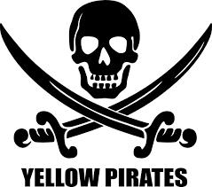 Yellow Pirates Logo Clip Art at Clker.com - vector clip art online ...