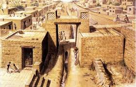 anthrojournal figure 3 an artist s interpretation of the gateway and drain at harappa courtesy of professor jonathan mark kenoyer university of wisconsin madison