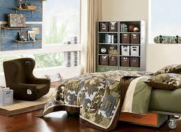 Bedrooms For Teenage Guys Bedroom For Teenage Guys Study Table Front Wiindow Stair Storage
