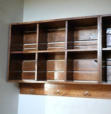 crate shelf wooden crate wall shelves diy