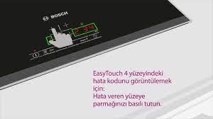 Bosch Ocak Hata Kodu - YouTube