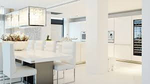modern mansion dining room. White Furniture In The Dining Room · Modern Table Mansion