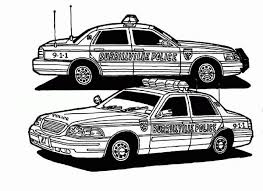 Small Picture Real Police Car Coloring Pages Coloring Coloring Pages