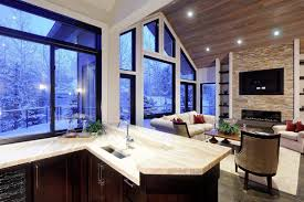large recessed lighting. Large House With Vaulted Ceiling And Recessed Lighting