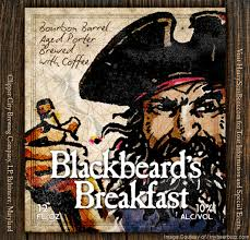 Image result for heavy seas blackbeard's BREAKFAST porter LABEL