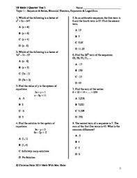 multiple test ib math sl topic 1 multiple choice practice test by math with mrs holst
