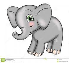 Small Picture Baby Elephant Coloring Pages Cute Baby Elephant coloring page
