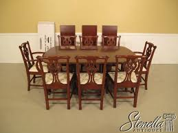 80 HENKEL HARRIS Cherry Table & Chairs NEW For Sale