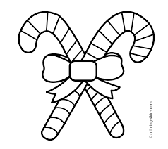 Mary Christmas Candies Coloring Pages For